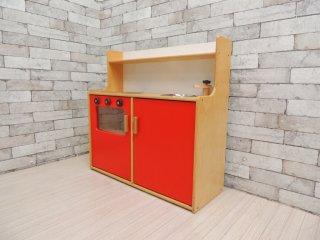 マリントラ MARINTRA 木のおもちゃ ままごとキッチン 流し台 オーブン おもちゃ 玩具 スウェーデン 製造終了品 ●