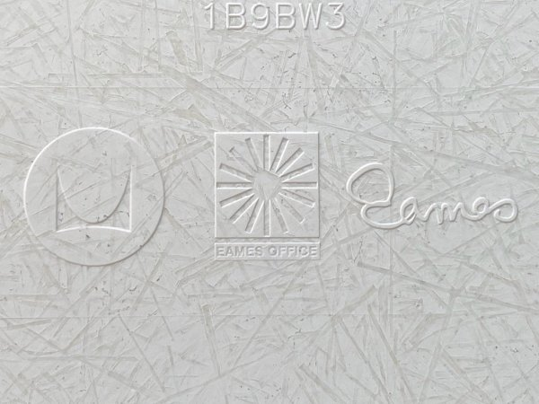 ハーマンミラー Herman Miller サイドシェルチェア 現行FRP製 キャッツクレイドルベース ホワイト C&R イームズ DSR ミッドセンチュリー ■