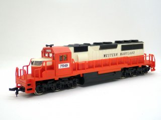 IHC International Hobby Corp. M361 SD-40 Western Maryland 7549 HOゲージ 鉄道模型 箱付き ♪