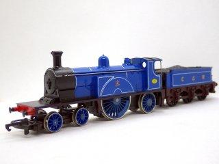 ホーンビー Hornby Railways R553 CALEDONIAN RAILWAY 4-2-2 OOゲージ 鉄道模型 箱付き ♪