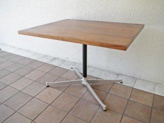 グリニッチ greeniche オリジナル ウォールナット 天板 カフェテーブル Xレッグ w90 北欧スタイル ◇