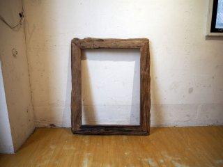 古材無垢 インテリア フレーム interior flame シャビーシック ミラーフレーム アートフレーム ★