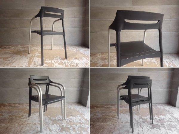 ウィルクハーン Wilkhahn 310/3 Senzo Chair スタッキング アームチェア 2脚セット 廃盤 ♪