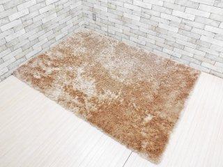 スプリングヴァレー SPRING VALLEY シャギー ラグ 絨毯 カーペット マット 200×140 無地 ベージュ 参考価格 : \78,400- ●