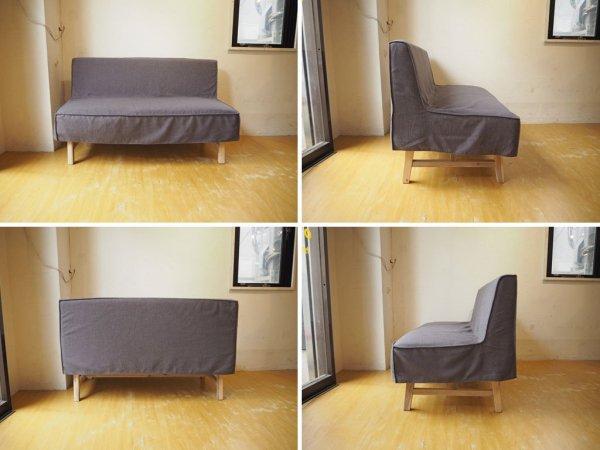 ウニコ unico マノア MANOA ベンチ バックレスト Bench backrest 幅 120 カバーリング ソファタイプ 2シーター ★