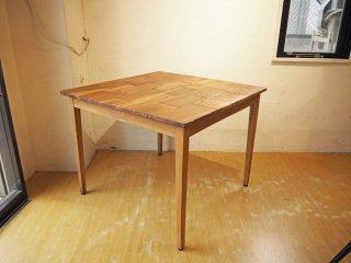 オールドメゾン old maison ブリックステーブル Bricks Table 古材 チーク材 ダイニングテーブル ★