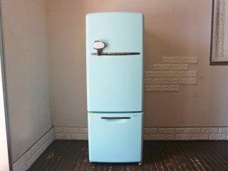 ナショナル National ウィル WiLL Fridge mini 冷蔵庫 162L ターコイズブルー カラー 2003年製 希少 ◎