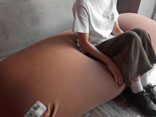 ヨギボー yogibo マックス MAX ビーズ ソファ クッション ブラウン ♪