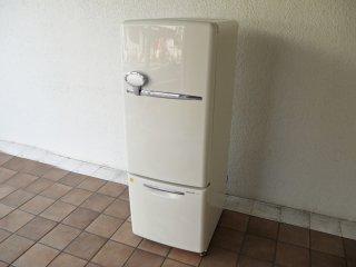 ナショナル National ウィル WiLL フリッジ ・ミニ FRIDGE mini 冷凍冷蔵庫 ホワイト 2004年製 162L NR-B162R 廃番 ノスタルジック ◇