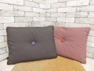 ヘイ HAY ドットクッション Dot Cushion 2個セット 長方形 クヴァドラ Kvadrat 生地 デンマーク 北欧雑貨 ●