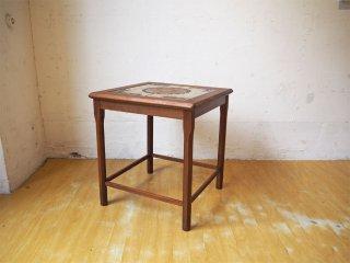 TOFTEN mobelfabrikke チーク材 タイルトップ サイドテーブル Side table 60's 北欧 ビンテージ ★