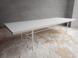ヘイ HAY サラ SARA コーヒーテーブル センターテーブル ホワイト W155cm 廃番 北欧家具 定価:約7万円 ♪