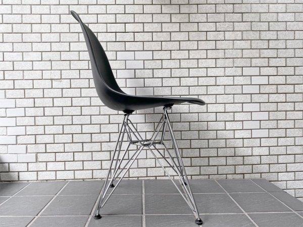 ハーマンミラー HermanMiller × ヴィトラ vitra サイドシェルチェア エッフェルベース ポリプロピレン製 ブラック イームズ ミッドセンチュリー ■