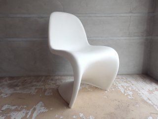 ヴィトラ vitra パントンチェア Panton Chair ホワイト ヴェルナー・パントン Verner Panton スタッキングチェア ♪