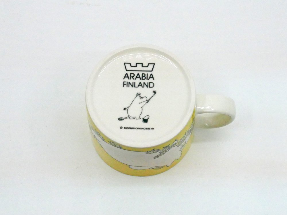アラビア ARABIA ムーミン マグカップ フローレン 2005年廃番 ●