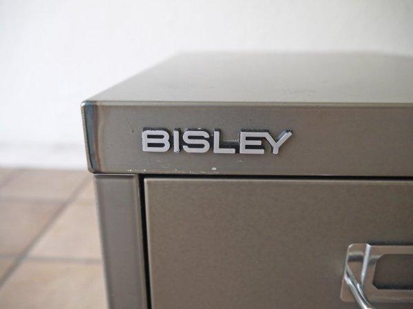 ビスレー BISLEY ベーシック BASIC シリーズ マルチ収納ケース 3段 ミニキャビネット グレー ガンメタル 書類ケース レターケース オフィス家具 英国 廃番 希少 ◇