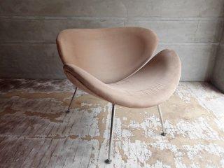オレンジスライスチェア Orange Slice Chair ラウンジチェア ピエール・ポラン デザイン ベージュ リプロダクト ♪