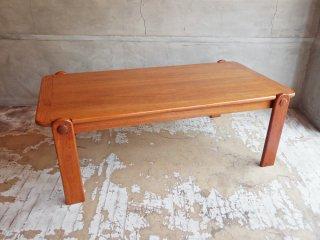 ジャパンビンテージ チーク材 センターテーブル ローテーブル 北欧スタイル♪