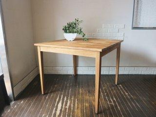 オールドメゾン old maison ブリックステーブル Bricks Table 古材 チーク材 ダイニングテーブル W90 ◎