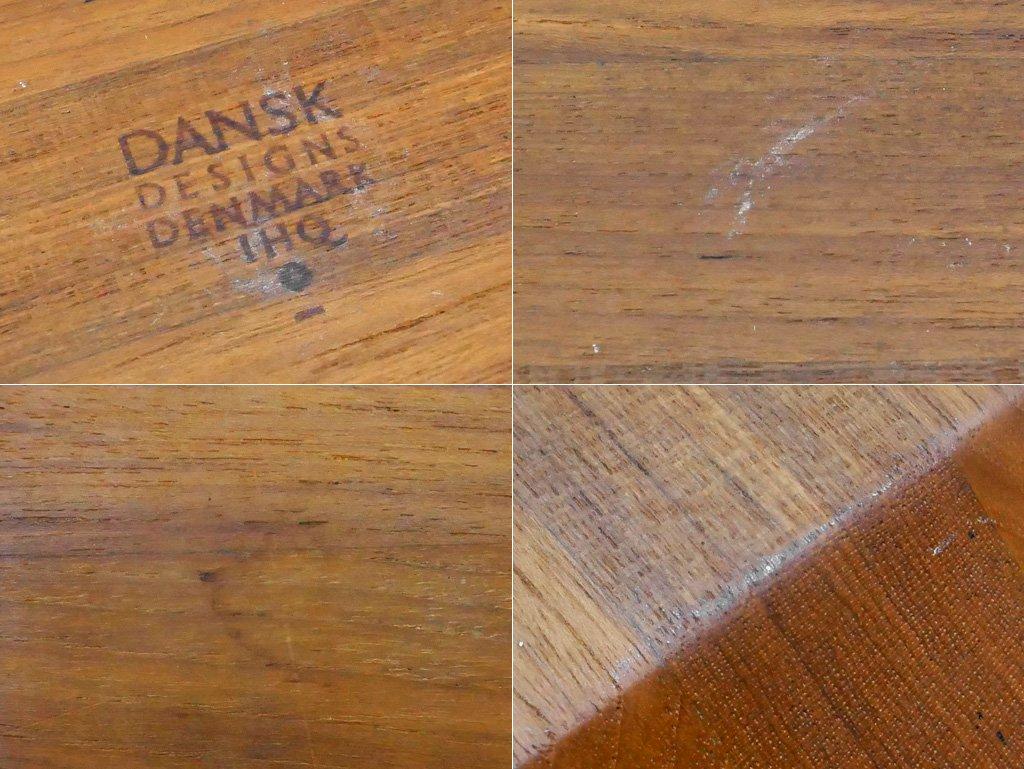 ダンスク DANSK チーク材トレイ IHQ イェンス・クイストゴー Jens.H.Quistgaard デンマーク ビンテージ 北欧雑貨 ●
