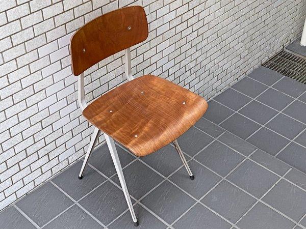 アーレンド・デ・シュルコ Ahrend de Cirkel ビンテージ リザルトチェア Result Chair プライウッド コンパスレッグ フリソ・クラマー ウィム・リートフェルト オランダ ■