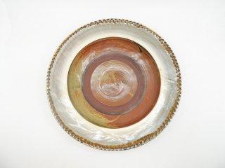 小鹿田焼 おんたやき 大皿 うつわ 器 29cm ●