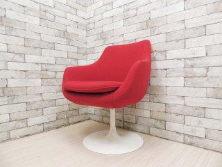 スウィッチ SWITCH コスミック チェア COSMIC Chair サークルレッグ カフェチェア  レッド ●