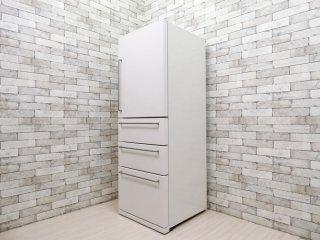 無印良品 MUJI バーハンドル ノンフロン冷蔵庫 MJ-R36A 3ドア 355L 2015年製 深澤直人 シンプルモダン ●