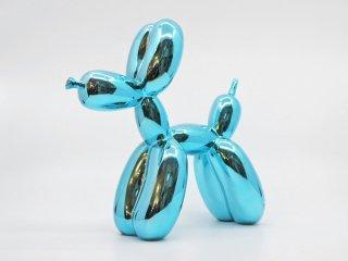 ジェフ・クーンズ Jeff Koons バルーンドッグ リプロダクト 樹脂クラフト ホームデコレーション 現代アート ●