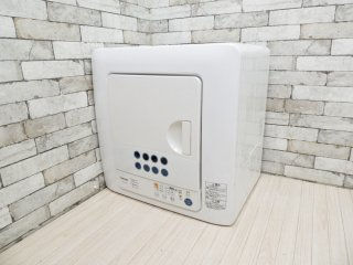 東芝 TOSHIBA ED-60C 電気衣類乾燥機 ピュアホワイト 2017年製 6.0kg ●