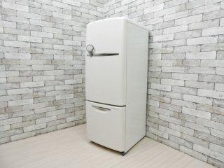 ナショナル National ウィル WiLL 冷凍冷蔵庫 ホワイト 2006年製 162L 廃番 ノスタルジックデザイン ●