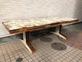 ピート・ヘイン・イーク Piet Hein Eek スクラップウッド パイリング テーブル SCRAPWOOD PILING TABLE オランダ ●