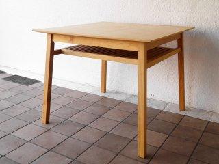 アクタス ACTUS ポトス POTHOS ダイニングテーブル 木製スクエアテーブル ナチュラルデザイン ◇