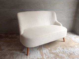 ウニコ unico ソフィー SOPHIE 2シーター ソファ フレンチスタイル ホワイト 定番カラー ファブリック♪