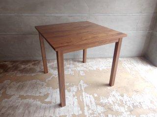 無印良品 MUJI ウォールナット 無垢材 ダイニングテーブル 幅80cm ♪