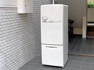 ナショナル National ウィル WiLL FRIDGE mini パーソナルノンフロン冷凍冷蔵庫 フリッジミニ ホワイト 廃盤 2003年製 162L オリジナル ノスタルジックデザイン ■