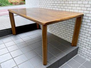 イバタインテリア ibata 飛騨家具 やすら木 yasuragi ダイニングテーブル ナラ無垢材 ■