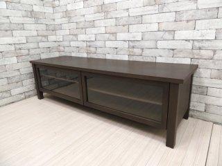 無印良品 MUJI タモ材 AVボード TVボード 廃番品 モダンスタイル シンプルデザイン ブラウンカラー W150 ●