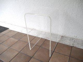 シンプルデザイン Simple Design アクリル製 サイドテーブル ナイトテーブル 花台 クリア ◇
