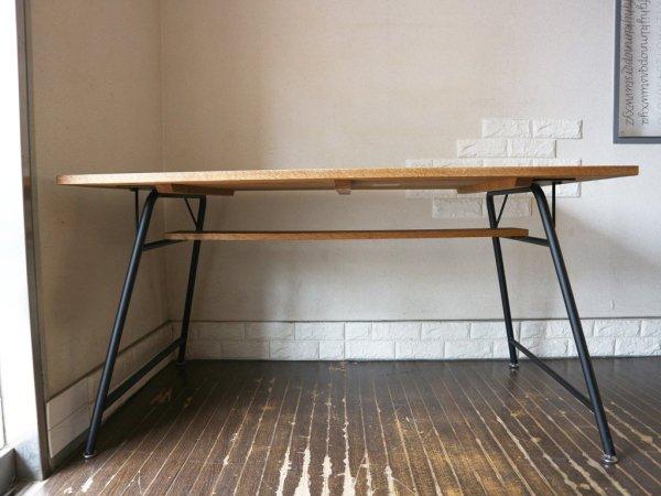 モモナチュラル Momo Natural ベント VENT オーク材 ダイニングテーブル セミオーダー ◎