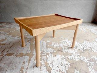北欧スタイル トレイテーブル トイテーブル ミニテーブル ウォールナット材 ビーチ材♪