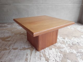 Hornbaek Mobelfabrik ビンテージ ローテーブル サイドテーブル チーク材 北欧家具 デンマーク  ♪