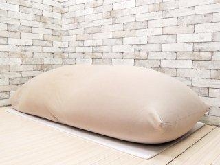 ヨギボー yogibo マックス MAX ビーズソファ クッション ライトグレー ●