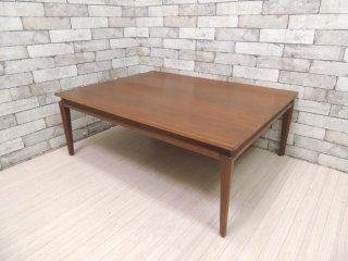 USビンテージ Vintage ローテーブル センターテーブル W101cm ミッドセンチュリー 米国家具 ●