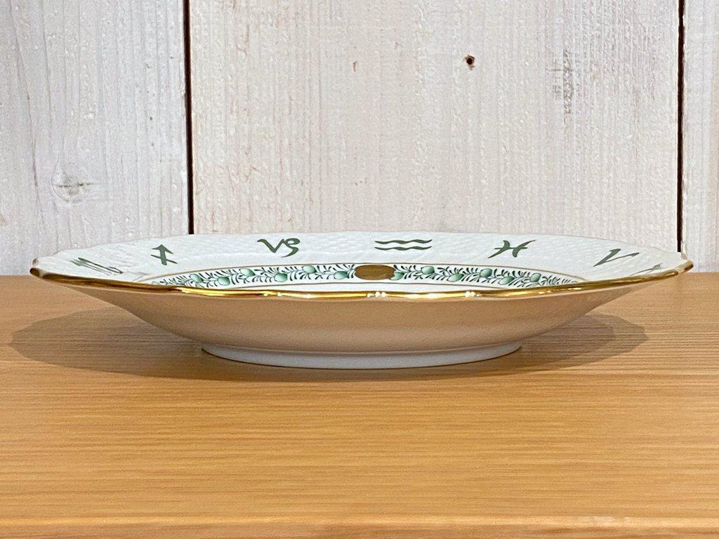ヘレンド HEREND 干支シリーズ イヤーズプレート 2011年 うさぎ 陶器製 ハンドペイント ハンガリー ■