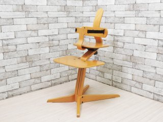 ストッケ STOKKE シッティ ベビーチェア SITTI Baby Chair キッズチェア ピーター・オプスヴィック Peter Opsvik ノルウェー 北欧家具 廃番希少 ●