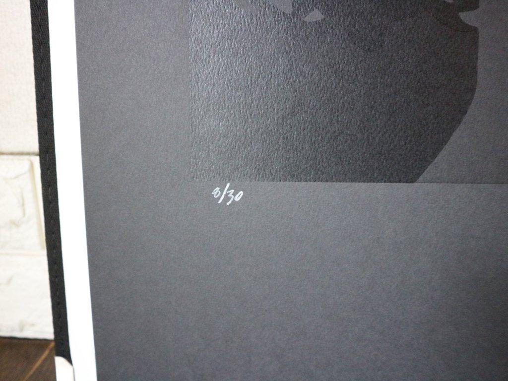 コンラッドリーチ CONRAD LEACH シルクスクリーン ジム・モリソン  大型 ポスター  現代アート ポップアート イギリス 額装なし ◎