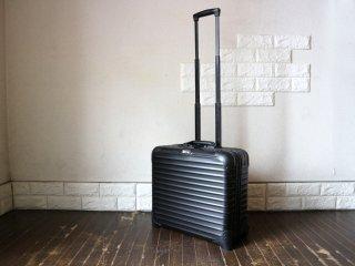 リモワ RIMOWA キャリーケース スーツケース トパーズ ステルス TOPAS STEALTH ビジネストローリー 28L 1泊用 2輪 ブラック TSAロック付 機内持込可 ◎