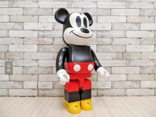 メディコムトイ MEDICOM TOY ベアブリック BE@R BRICK 1000% ミッキーマウス Mickey Mouse ディズニー Disney 高71cm 初期型 2009年 希少  ●