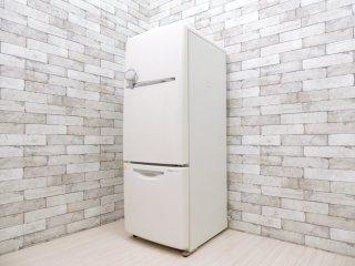 ナショナル National ウィル WiLL 冷凍冷蔵庫 ホワイト 2003年製 162L 廃番 ノスタルジックデザイン ●
